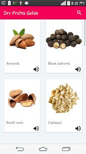 Dry Fruit Guide - náhled