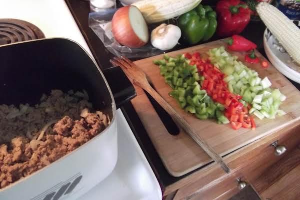 Ali's Crockpot Turkey Chili
