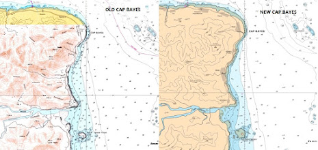 Photo: Cap Bayes - French Polynesia and New Caledonia Raster Chart Update - http://www.maxsea.com/products/charts/list/oceania/raster/wide/mapmedia/french_polynesia_new_caledonia