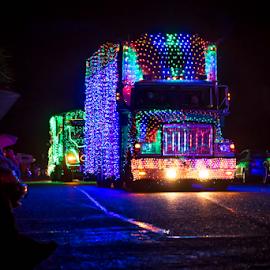 Truck Prade by Darren Sutherland - Public Holidays Christmas