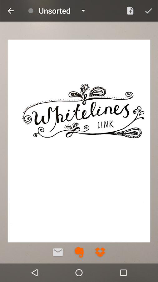 Whitelines Link- screenshot