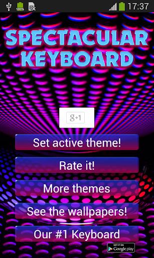 Spectacular Keyboard