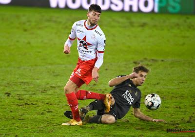 Antoine Colassin n'affrontera pas Anderlecht le week-end prochain