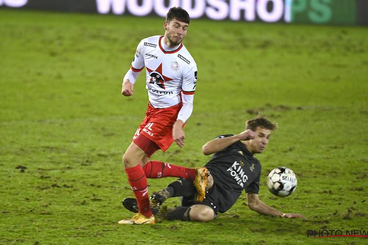 """Eindelijk opnieuw speelminuten en ritme in 1A voor huurling: """"Bij Anderlecht kreeg ik geen kansen meer"""""""