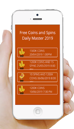 Free Coins and Spins Daily Master 2019 cheat hacks