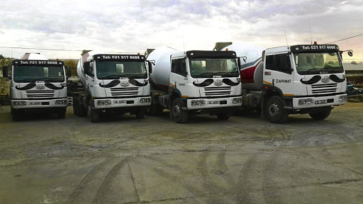 A fleet of Afrimax's FAW 33.330FC and 35.340FC mixers.    Picture: FAW SA