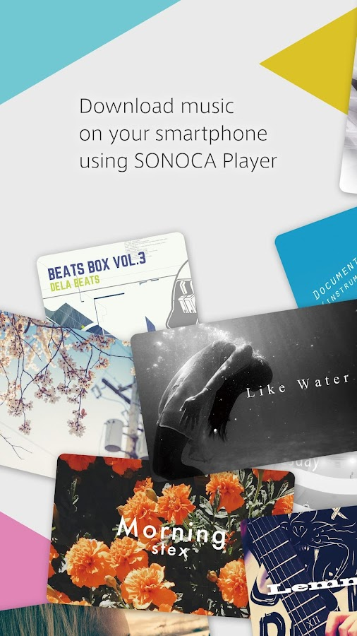 SONOCA Player- screenshot