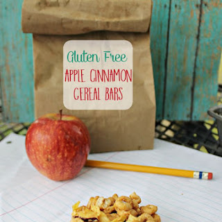 Apple Cinnamon Gluten Free Cereal Bars.