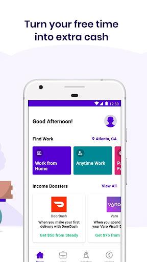 Steady - Find Work. Earn Money 3.4.0 screenshots 2