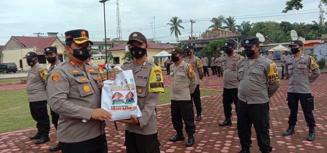 Kapolda Sumatra Utara Beri Bantuan Dan Perhatian Khusus Kepada Bhabinkamtibmas
