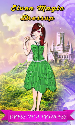 Magic Castle: Elves Dressup