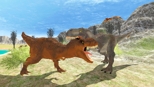 Télécharger Hungry Dinosaur Games Simulator Dino Attack 3D mod apk screenshots 5