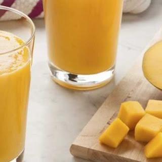 Mango and Banana Smoothie.
