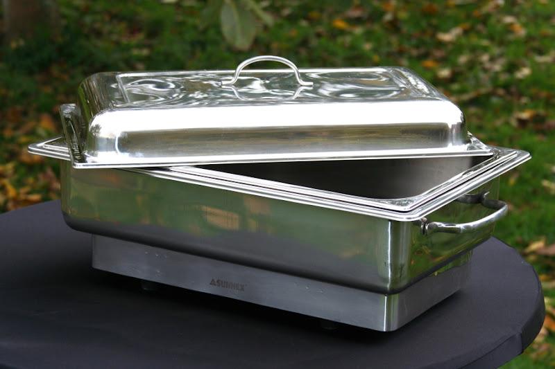 Chafing dish huren - elektrisch