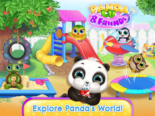 Panda Lu & Friends - Playground Fun with Baby Pets apkmr screenshots 9
