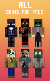 Mob Skins for PC / Windows 7, 8, 10 / MAC Free Download