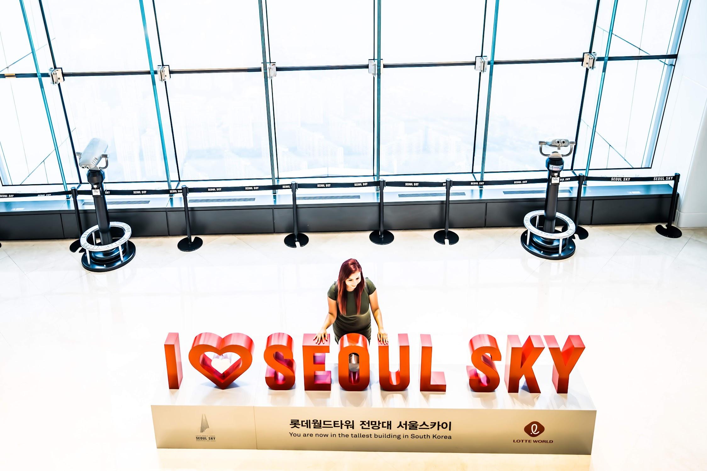 Lotte World Tower Observation Deck5