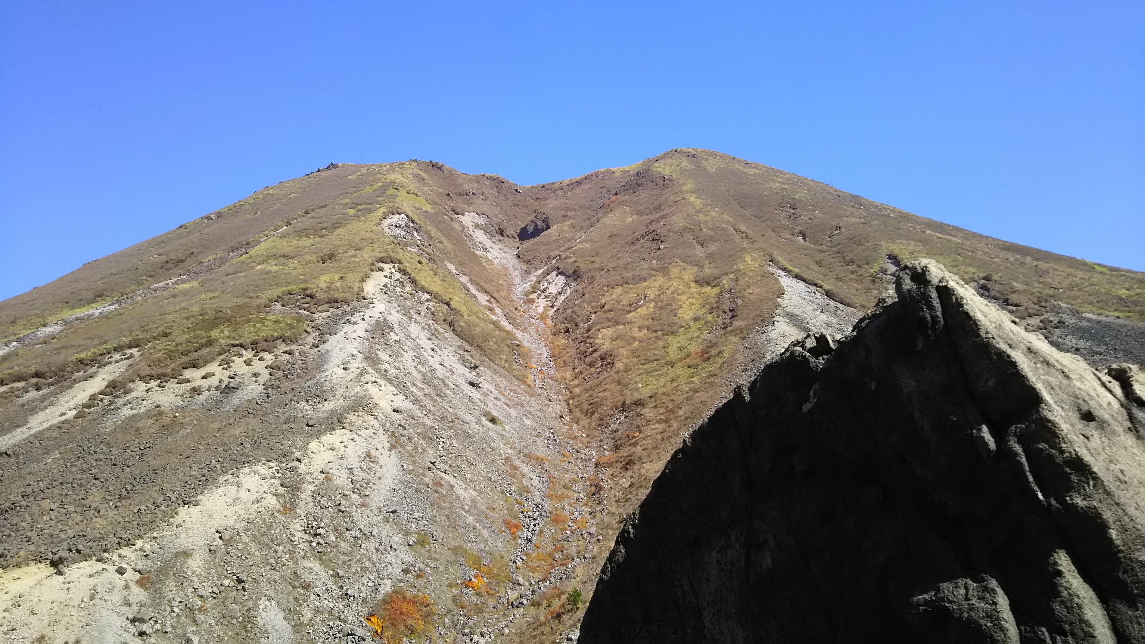 三俣山の山容