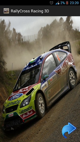 android RallyCross Racing Screenshot 1