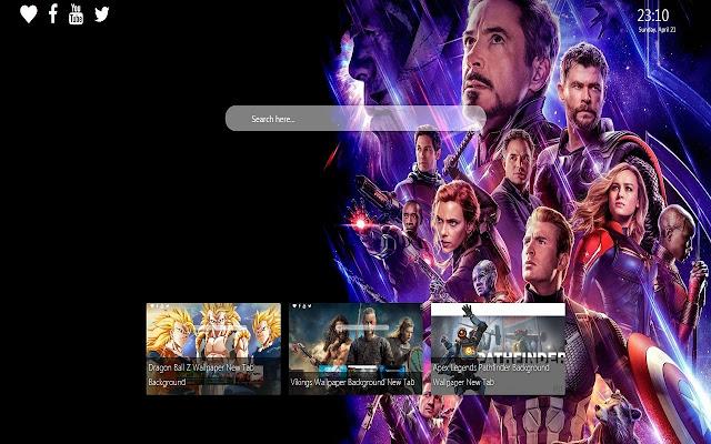 Avengers Endgame Wallpaper Background New Tab