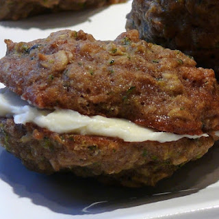 Zucchini-Nut-Bread Cookie Sandwiches