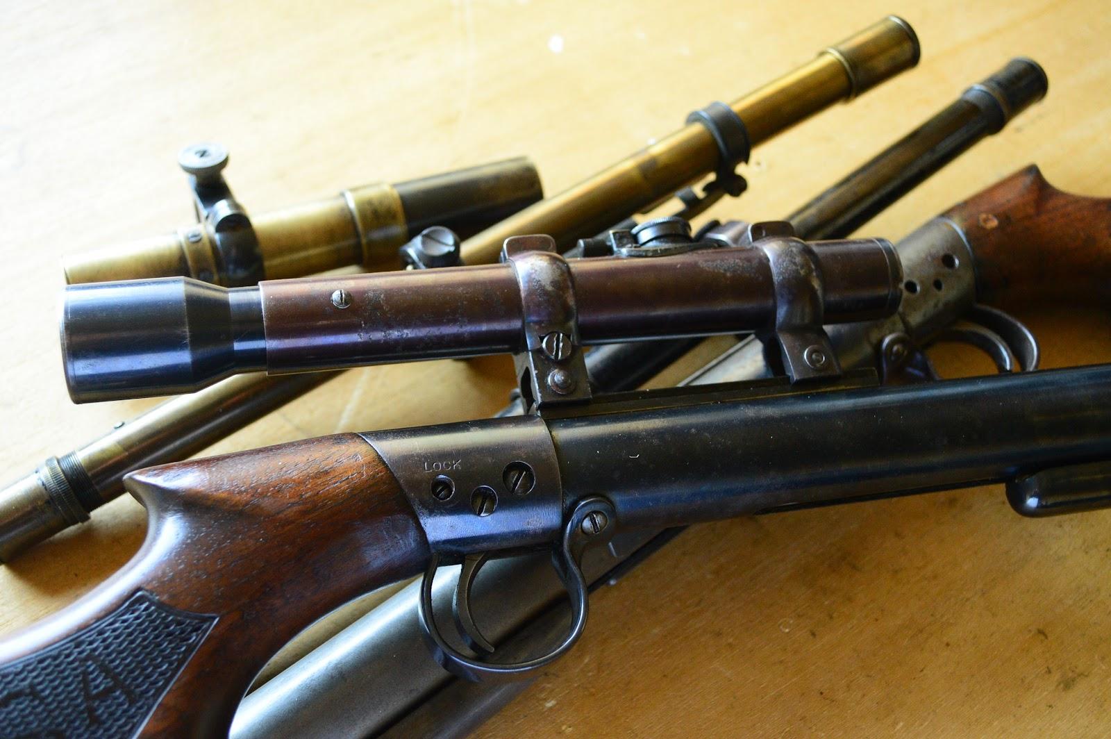a vintage BSA air rifle