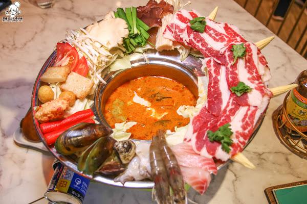 獨特創新爽口開胃的越南風味美食就在小越廚,酸辣開胃之海陸帽子推推鍋