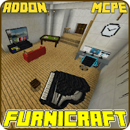 Furnicraft Addon for Minecraft PE 1 0 latest apk download for