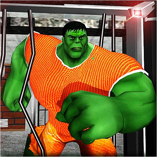 Incredible Monster Hero Prison Escape: Jail Break