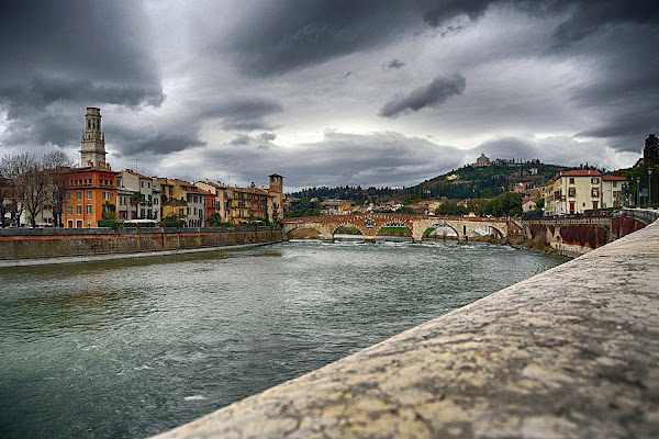 Adige a Verona di nicomat