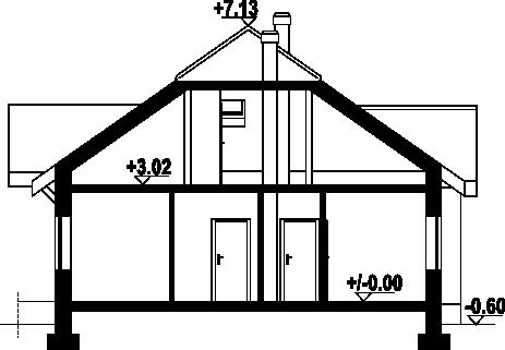 Antonin 31 - Przekrój