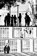 Photo: De l'autre côté... la vie ! On the other side... the life !  #steetartsunday (+Luís Pedro & +Peter Tsai) #streetphotography #silhouette