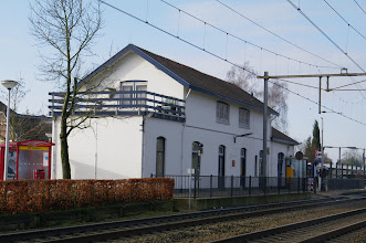 Photo: station Holten, de trein is net vertrokken