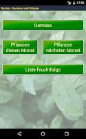 Screenshot of Garten: Gemüsepflanzen Frei