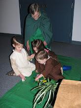 Photo: Fri, Dec 5/08 - Doris Hatheway, Riley Palmer, Ainsley Green, Caleb Palmer