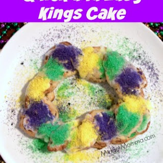 Quick and Easy Kings Cake.