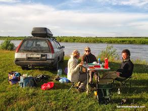 Photo: Our campsite near the Selenga delta