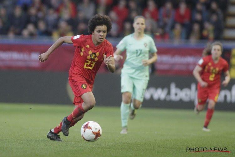 """Kassie Missipo (KAA Gent Ladies) wint de Sparkle: """"Onbeschrijfelijk"""" en """"Zonder goede teamgenoten ..."""""""