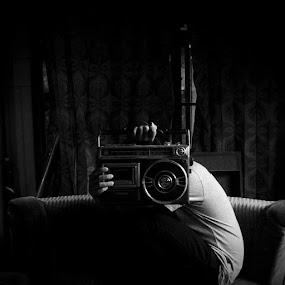 by Udakdibalikbatu - Black & White Portraits & People