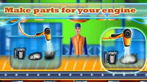 Sports Motorcycle Factory: Motorbike Builder Games  screenshots 4