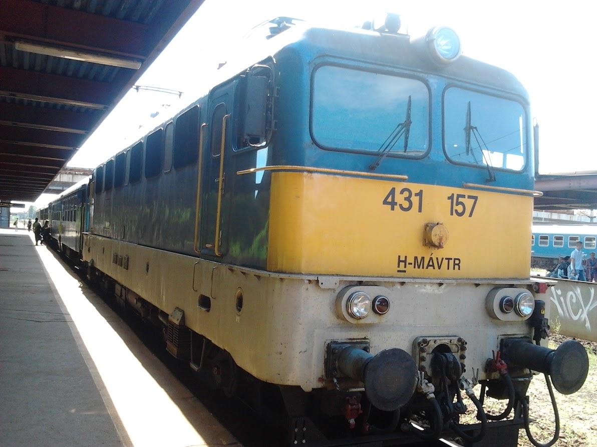 Elszabadult szombaton egy magán vasúttársaság mozdonya