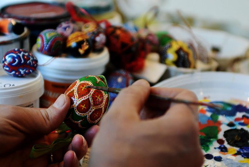 il pittore di uova di mousix