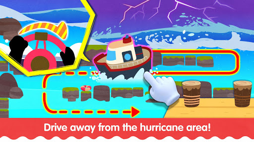Little Panda's Weather: Hurricane apkpoly screenshots 3