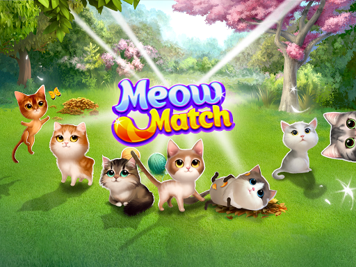 Meow Match: Cats Matching 3 Puzzle & Ball Blast apkpoly screenshots 8