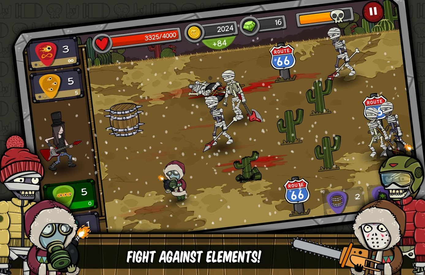 Rock Defender- screenshot