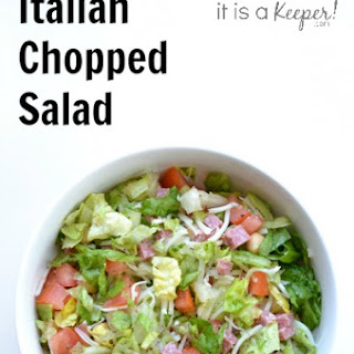 Italian Chopped Salad.