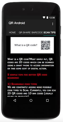 QR Android 1.7 screenshots 2