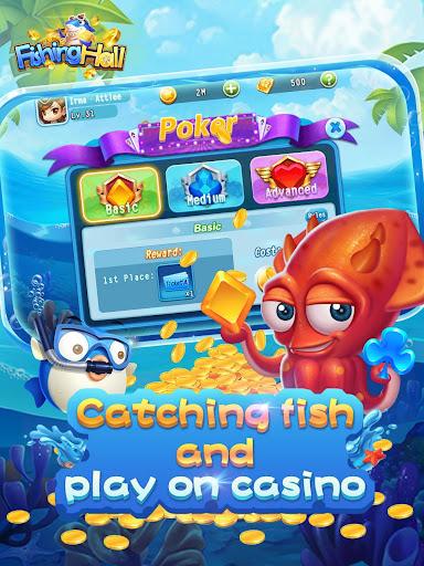 Fishing Hall-Free Slots,Poker,Fishing Saga 1.0.6 screenshots 6