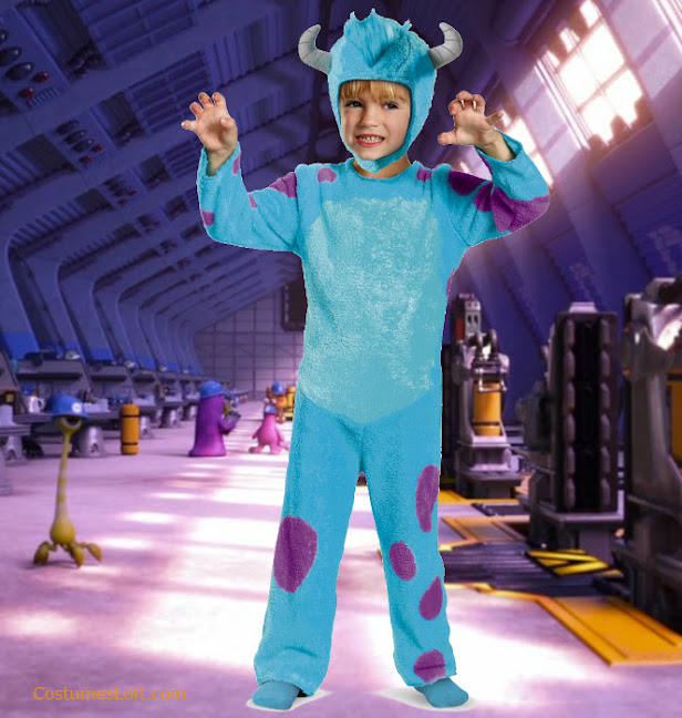 monster university baby boy costumes sulley