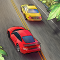 Traffic Clicker: Idle Racing, Blocky Car Tap Games
